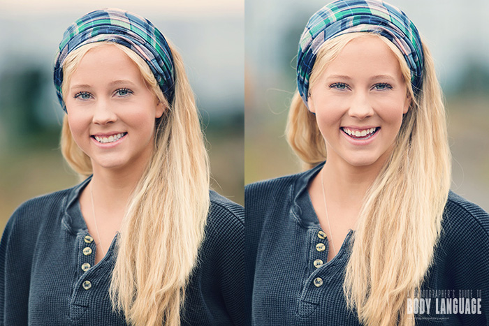 How to Avoid Fake Smiles in Your Portraits