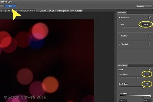 Field-Blur-dialog-options