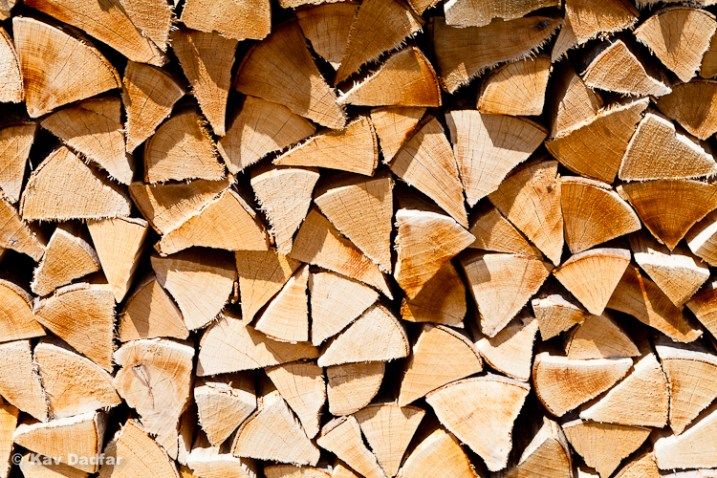 But behind me was a stack of chopped wood. This image has netted me more sales than the photo's of the scenery.