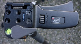 Review of the Manfrotto 322RC2 Joystick Tripod Head