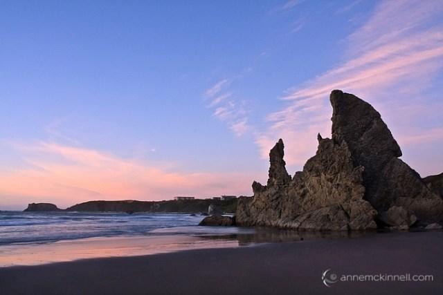 Bandon Beach, Oregon by Anne McKinnell
