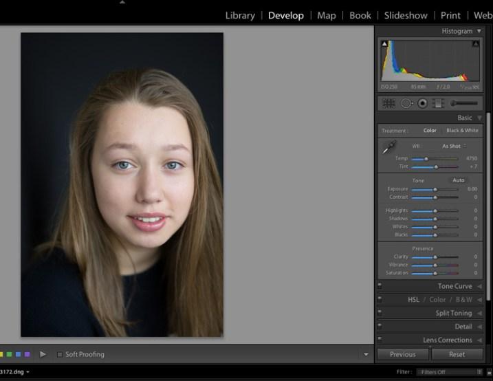 11 Steps For Basic Portrait Editing In Lightroom A Beginner S Guide