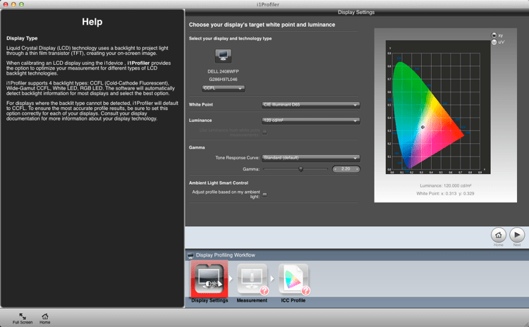 Calibrating your screen 03