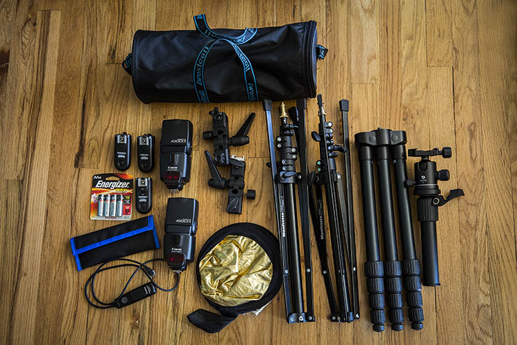 how to build the best on location photography lighting kit