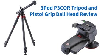 The 3Pod P3COR Tripod and SH-PG Ball Head Review