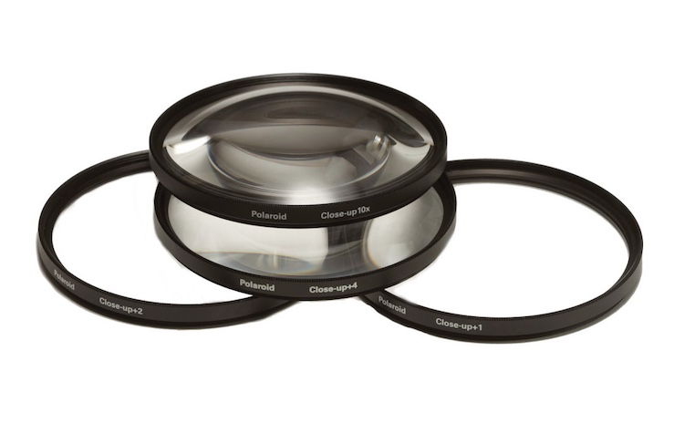 A set of close-up filters filters like this will help you get macro-style images without breaking the bank.