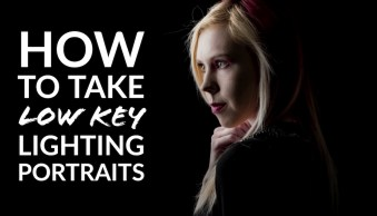 How to Take Low Key Lighting Portraits