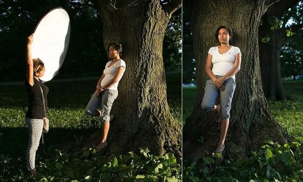 6 maneiras de usar o refletor para tirar melhores retratos