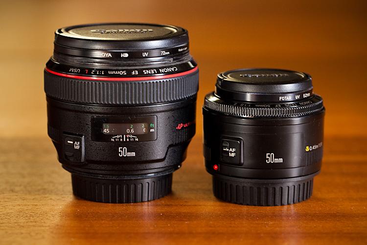 50mm lenses
