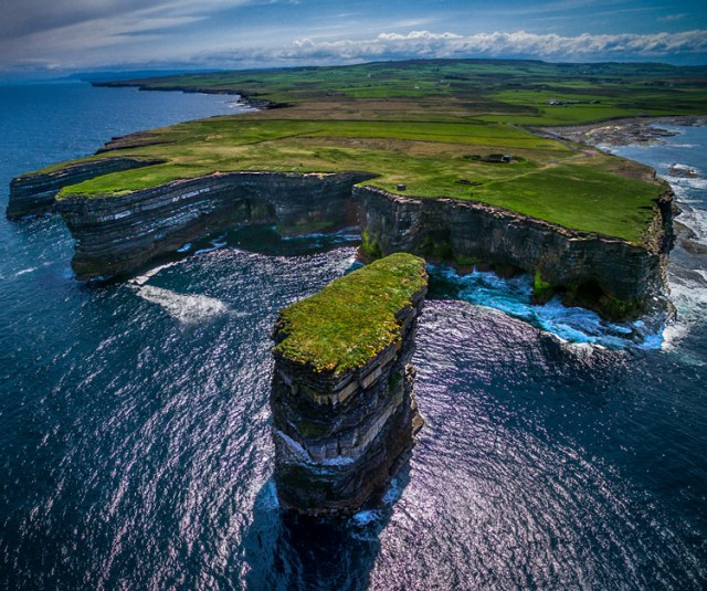 Downpatrick-Head photography with drones