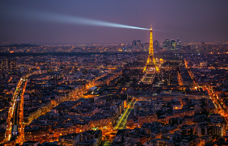 Paris from the Montparnasse Tower