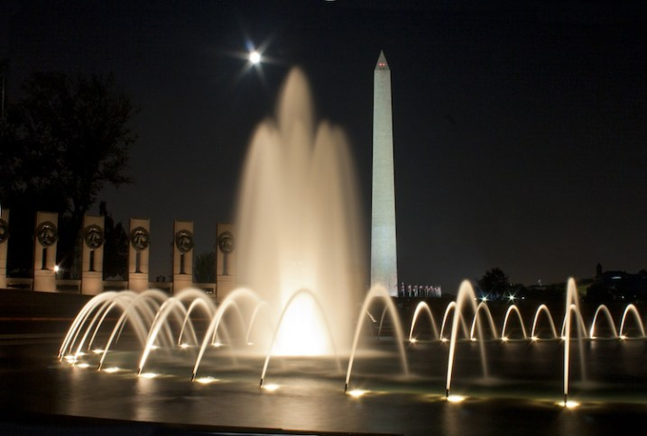 This is the World War II Memorial in Washington DC with the Washington Monument in the background. Committing to shooting a personal project is fun, rewarding and builds your self-confidence.