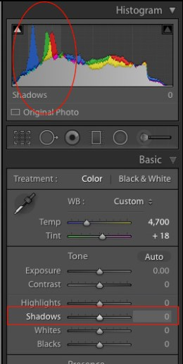 Shadows-slider