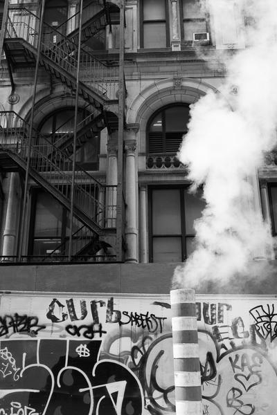 Smokestack and Graffiti, New York