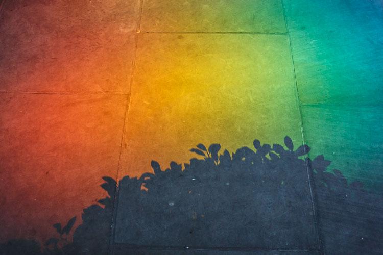 Inspire Your Creativity rainbow