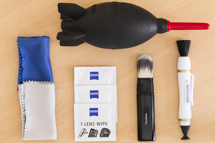 An overview of essential cleaning items.