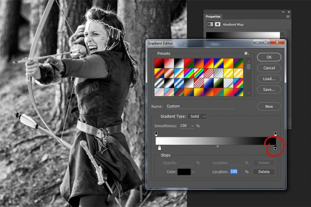 black-and-white-conversions-in-photoshop-gradientmap-clickslide