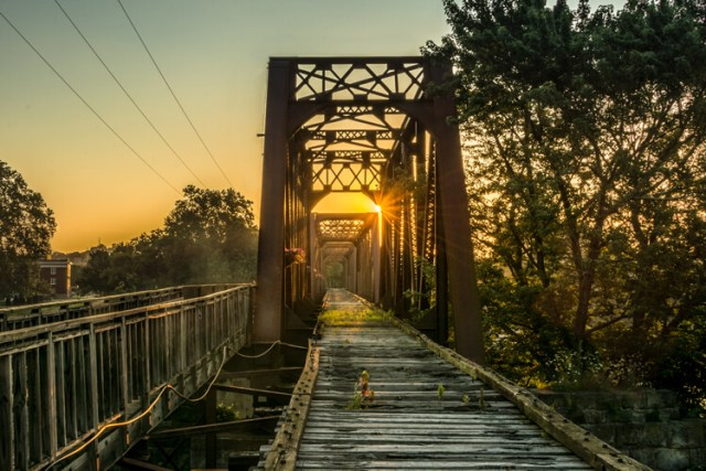 Using TPE I was able to determine the exact day that the sunrise would aline with the bridge to capture a one of a kind image.