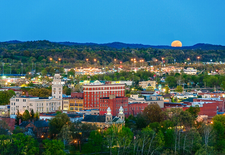 Using TPE to reseach is image I knew the exact time an location of the full moon rising. What really made this image was the sunset at my back that was casting some fantastic light on the city. Knowing this facts allowed me to create a one of a kind image of Marietta Ohio. One that I have sold many times.