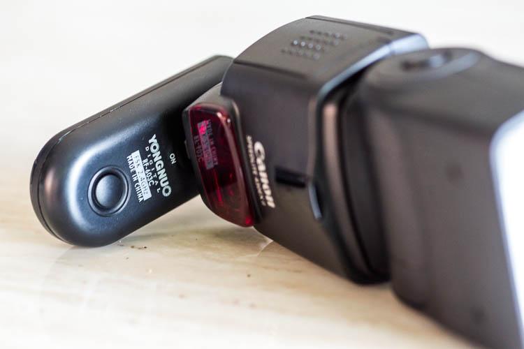 Yongnuo wireless flash triggers