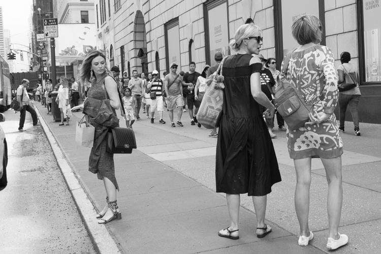 纽约大街摄影第五大道