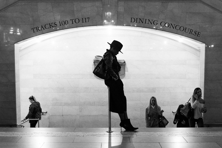 Grand Central Woman, NYC