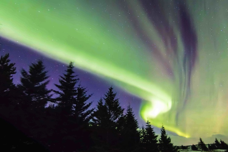 Aurora borealis Image A