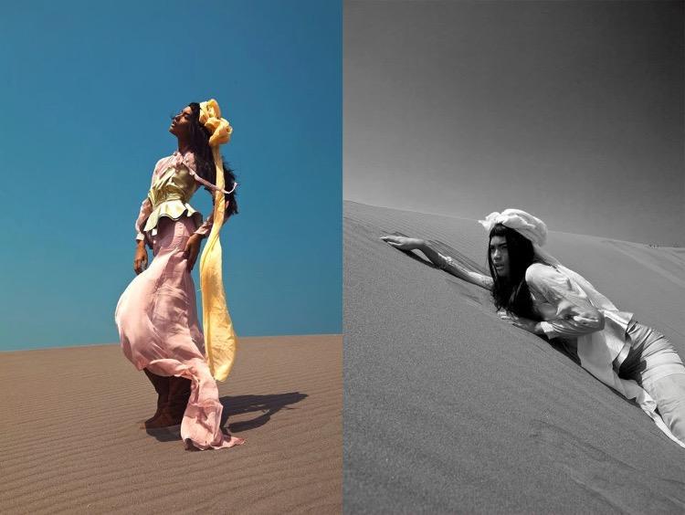 Fashion shoot photography