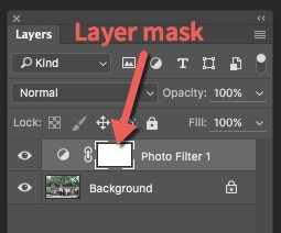 layer-mask-ps - adding color in Photoshop