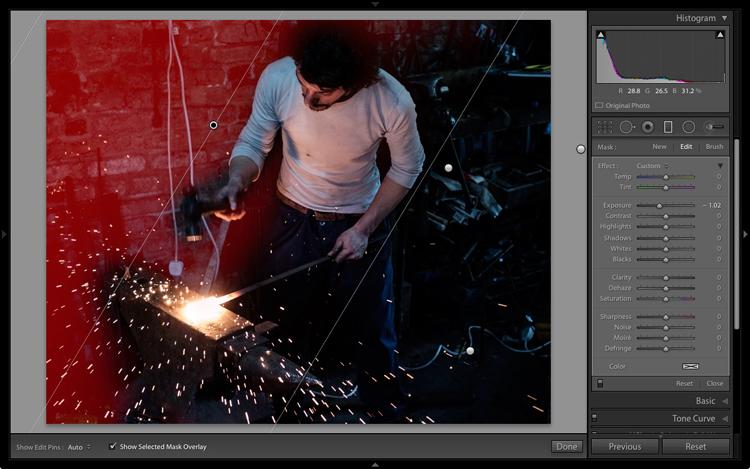 Lightroom processing