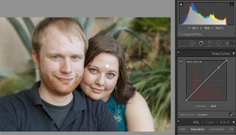 How to Correct Skin Tones Using Lightroom's Color Curves