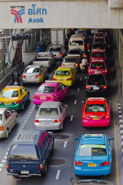 travel photographer frustrations traffic