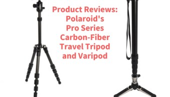 Product Review: Polaroid Carbon-Fiber Travel Tripod and Varipod