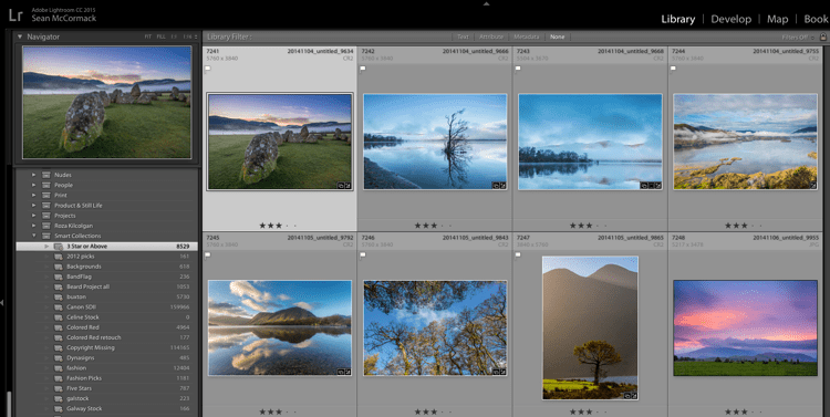 Creating and using smart collections in lightroom 5