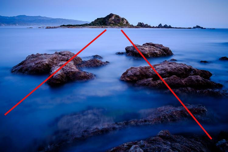 como adicionar profundidade e dimensão nas linhas principais da fotografia