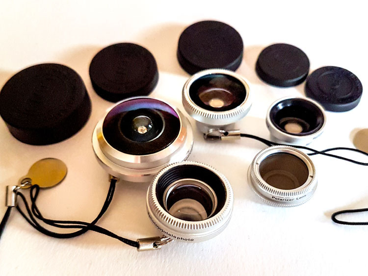 how to use fisheye lens on android