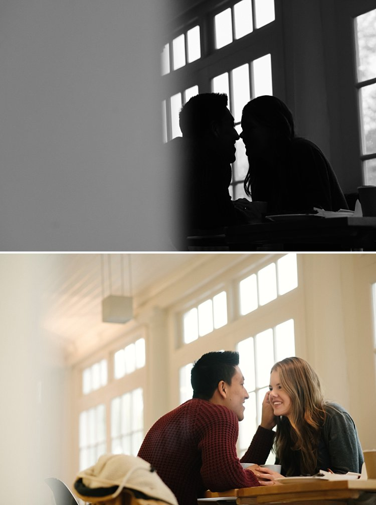 romantic portraits of couples