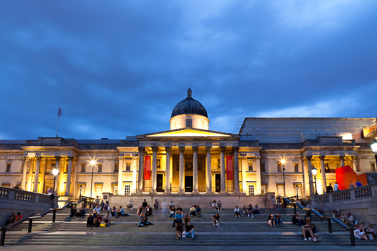 National Gallery - photographing galleries and museums