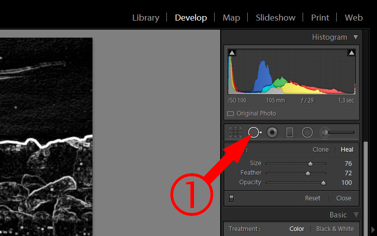 Lightroom Secret1 visualize spots2