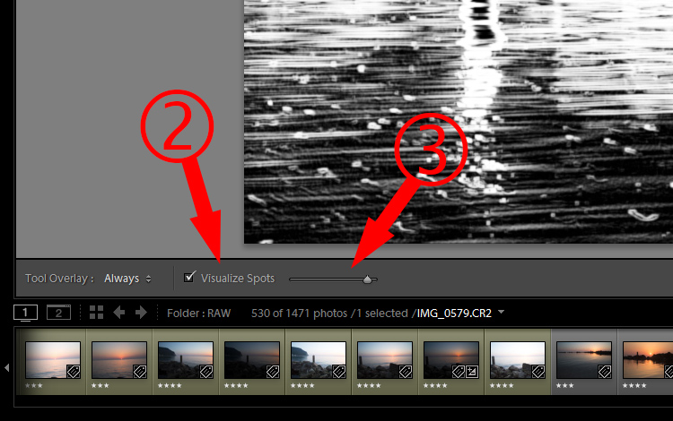 Lightroom Secret1 visualize spots3