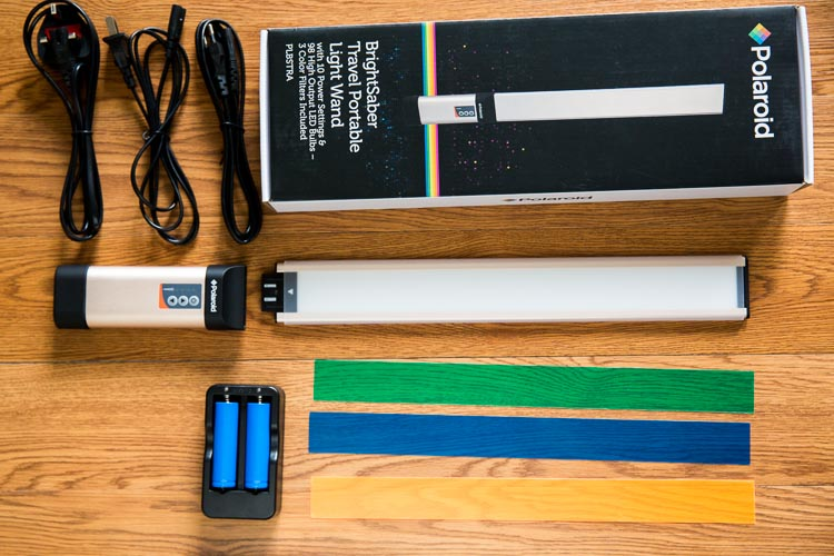 First Look: Polaroid BrightSaber Travel LED Wand