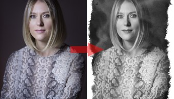 How to Create an Antique Photo Look Using a Lemon and Layer Masks in Photoshop