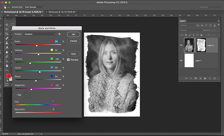 16 How to create your own Layer Masks