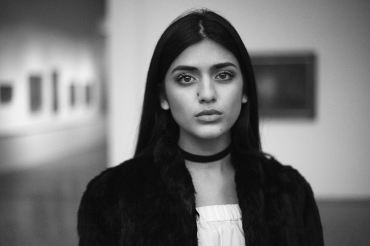 how to create good black and white portraits