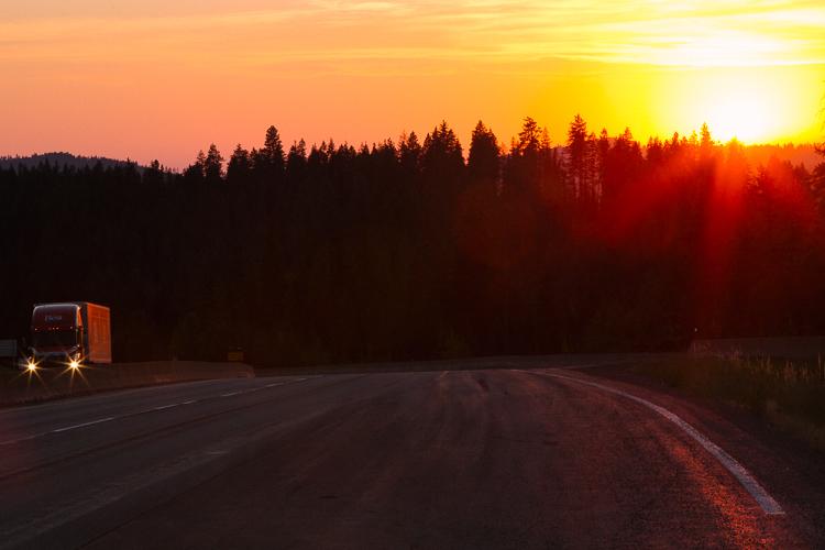 Sunrise along the Idaho border Memorable Jaunts Travel Photography Tips