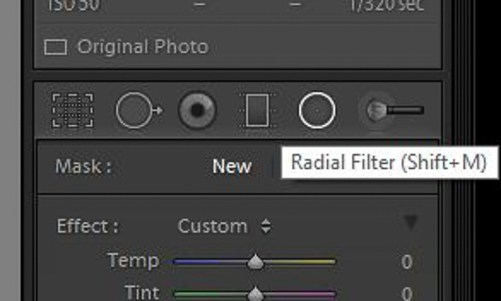 Creative Use of the Radial Filter in Lightroom