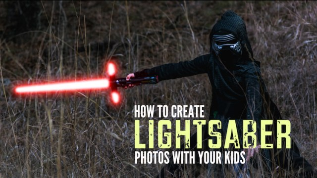 How to Turn Your Kids into Star Wars Characters Using Adobe Photoshop