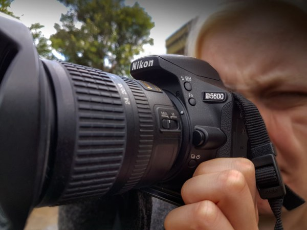 Review of the New Nikon D5600 Camera Body