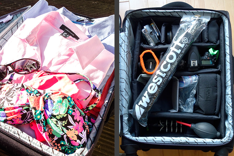 DIY Hack 2-in-1 Luggage and Camera Roller Bag