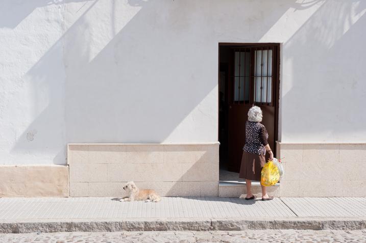 street portrait photography candid Jerez